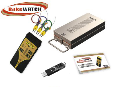 Rack Oven BakeWATCH Profiling Kit